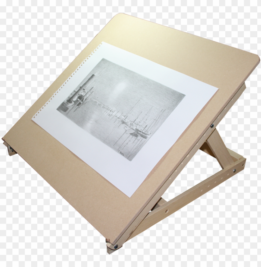 free PNG drawing easels tabletop jpg transparent download - table top drawing board PNG image with transparent background PNG images transparent
