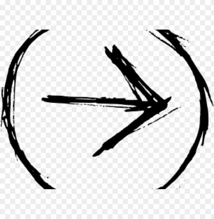 free PNG drawn arrow circle - hand drawn circle PNG image with transparent background PNG images transparent