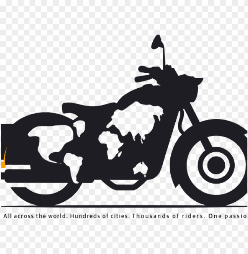 free PNG drawn biker royal enfield bike - royal enfield bike logo PNG image with transparent background PNG images transparent