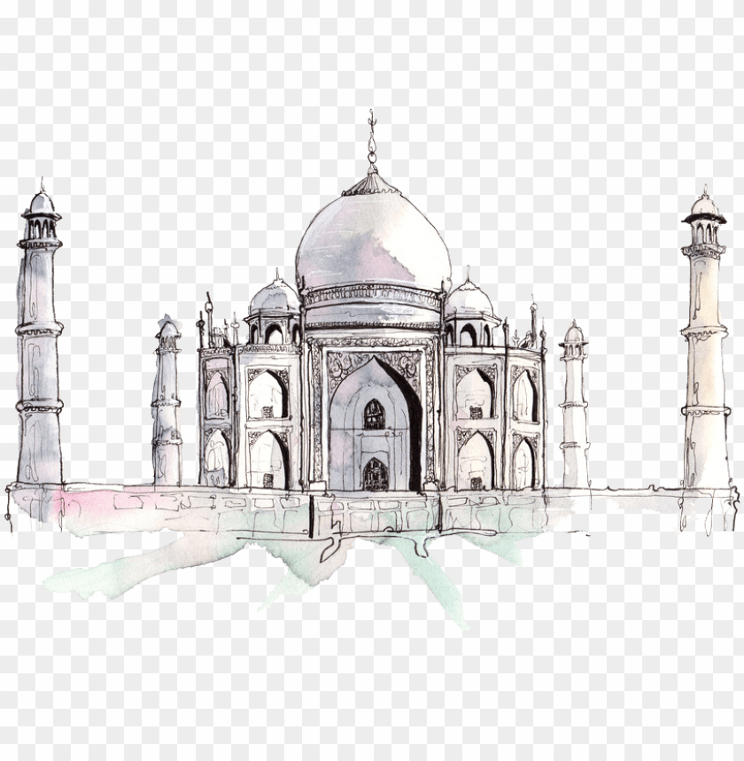 free PNG drawn mosque drawing - travel calendar 2019 printable PNG image with transparent background PNG images transparent