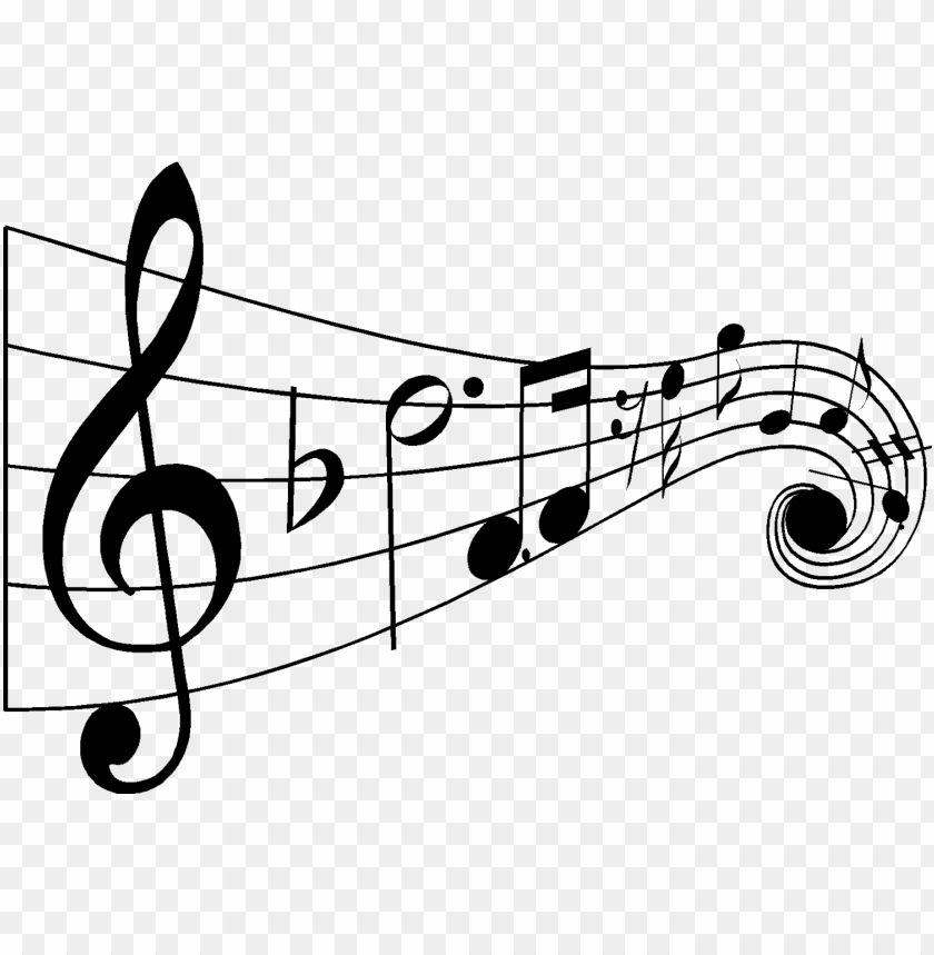 free PNG drawn music notes jazz - music notes black and white PNG image with transparent background PNG images transparent