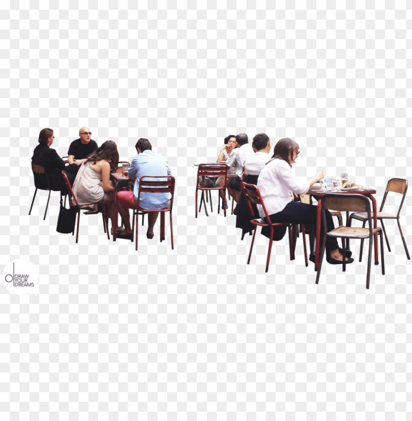 free PNG drawyourdreams people cutout, cut out people, people - cut out people restaurant PNG image with transparent background PNG images transparent