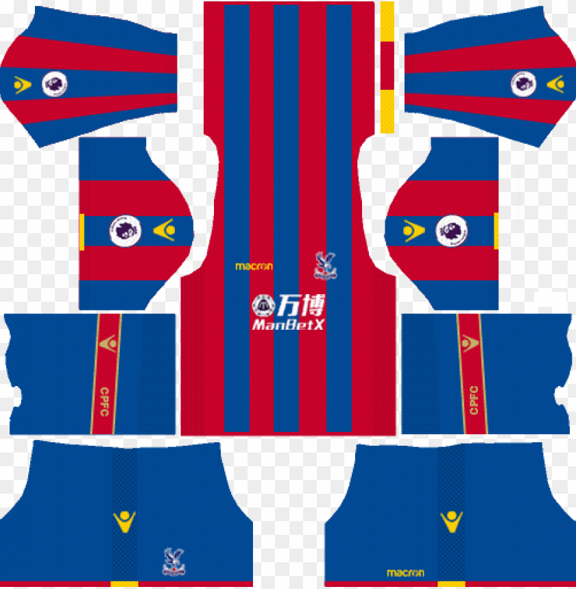 free PNG dream league soccer crystal palace fc kits and logos - dream league soccer kits crystal palace PNG image with transparent background PNG images transparent