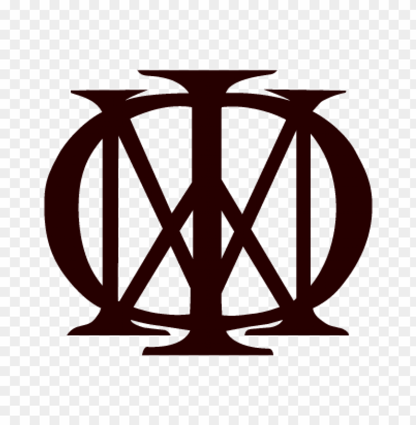 free PNG dream theater black vector logo PNG images transparent