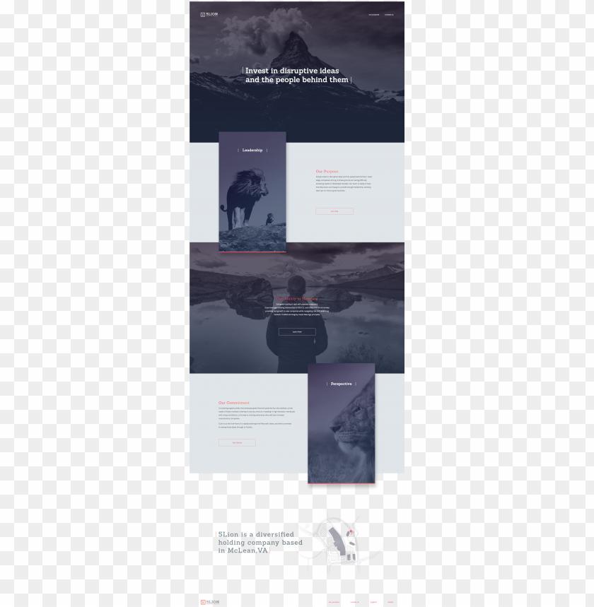 free PNG dribbble minimal layout web design elegant web desi PNG image with transparent background PNG images transparent