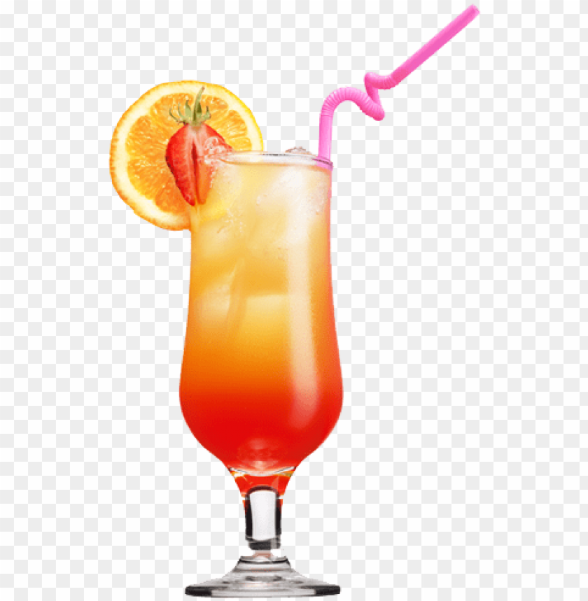 free PNG drink clipart hd png images - tequila sunrise cocktail PNG image with transparent background PNG images transparent