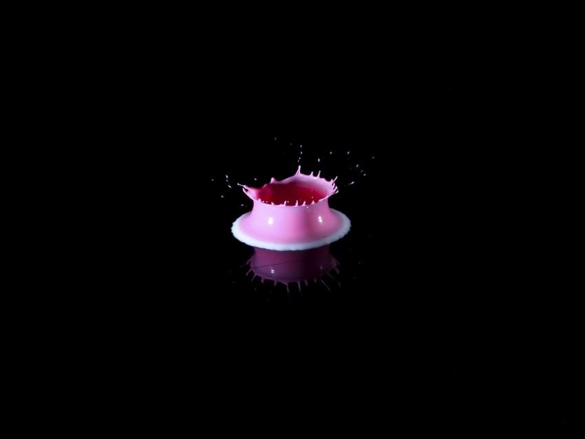 free PNG drop, paint, splash, pink, reflection, fall, splatter background PNG images transparent
