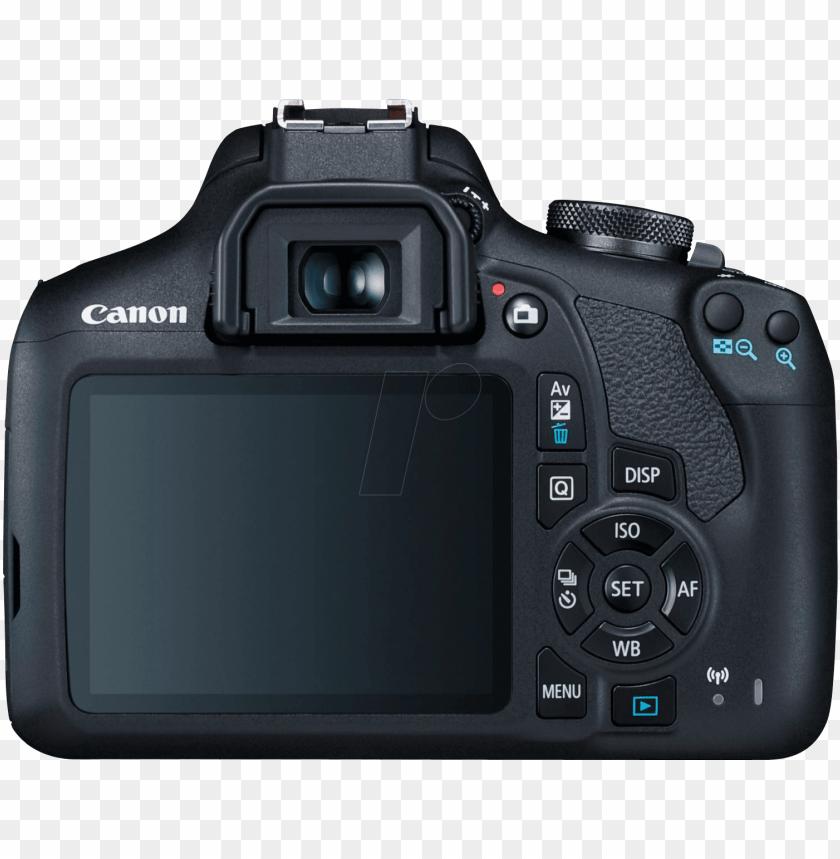 free PNG dslr camera, eos 2000d, 18-55, battery kit canon 2728c010 - canon eos 2000d dslr PNG image with transparent background PNG images transparent