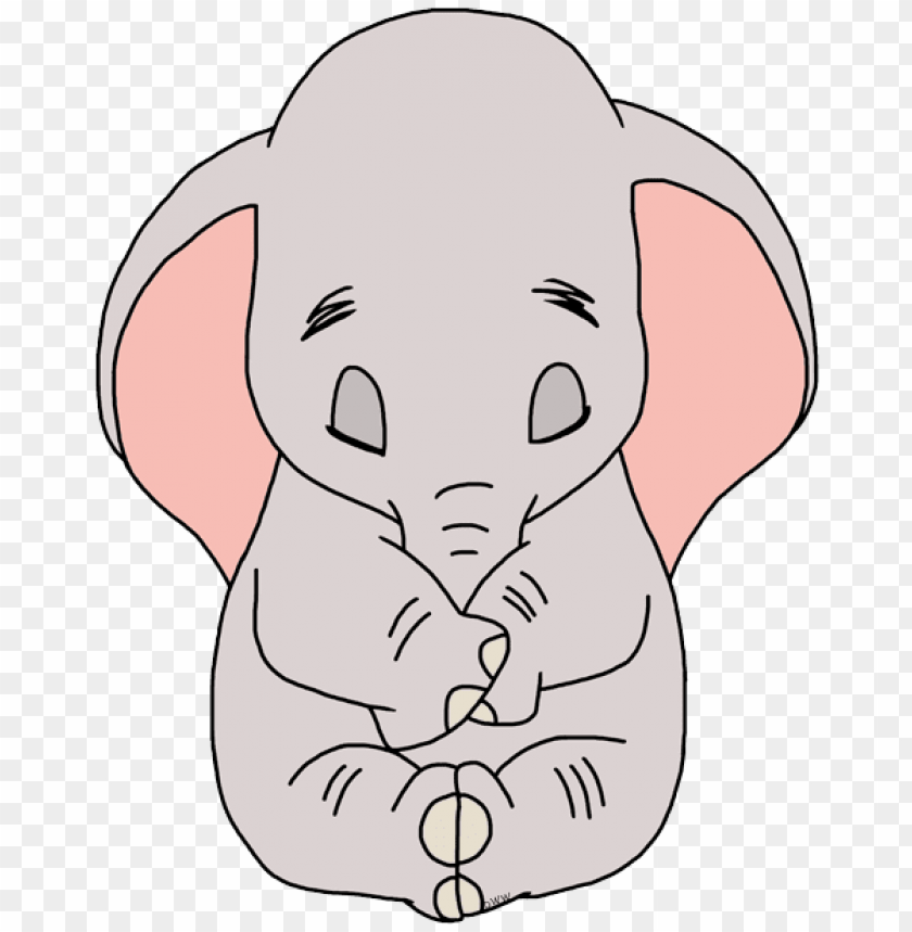 Dumbo coloring picture | 859x840