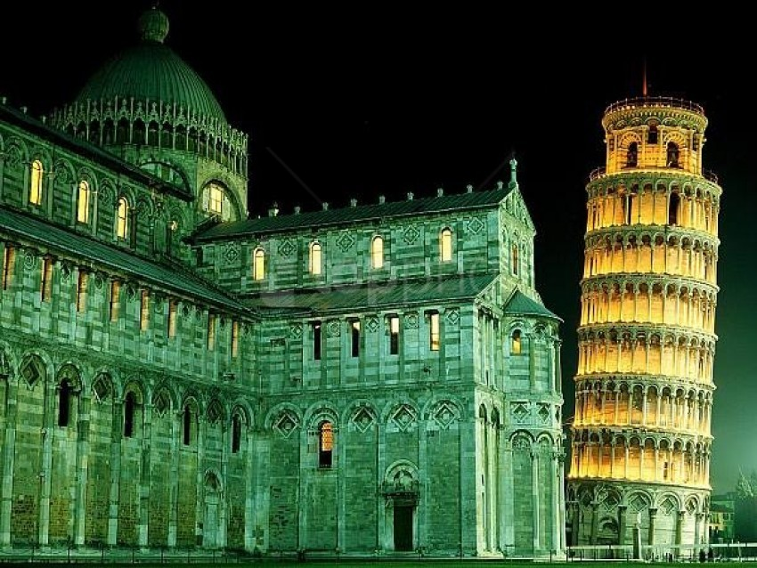free PNG duomo and leaning tower italy background best stock photos PNG images transparent