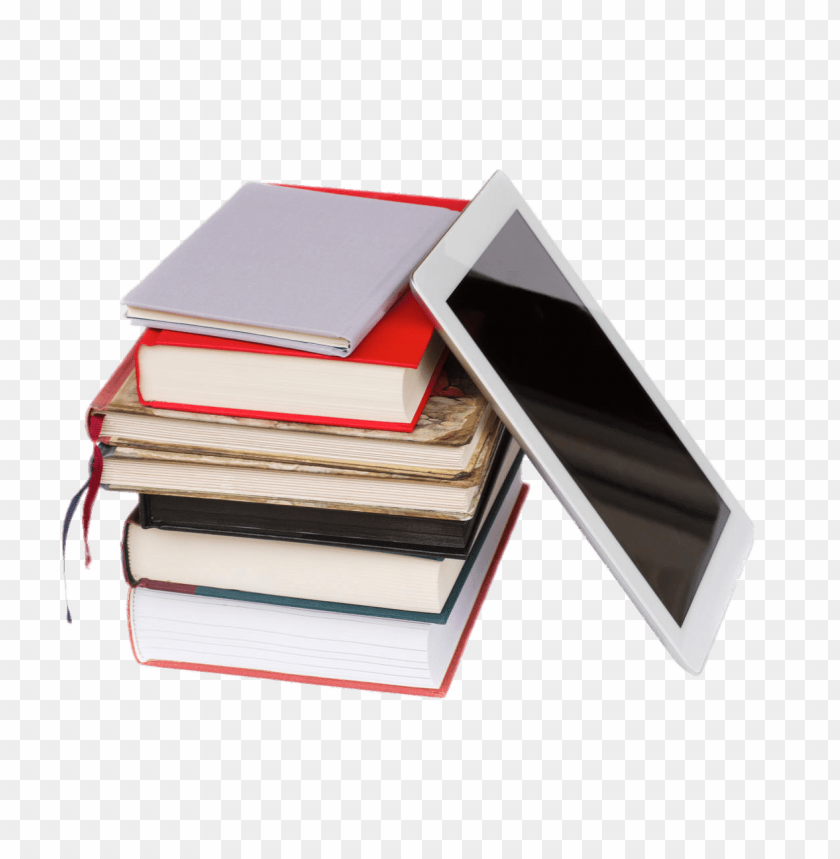 free PNG e-book next to pile of books png images background PNG images transparent
