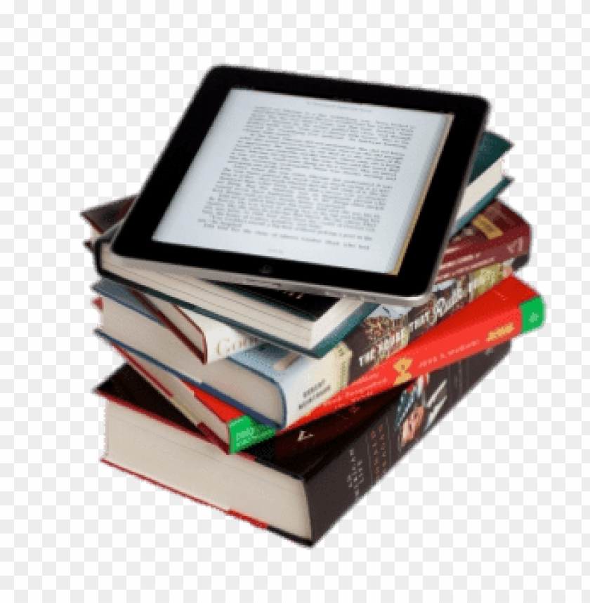 free PNG e-book on top of book pile png images background PNG images transparent