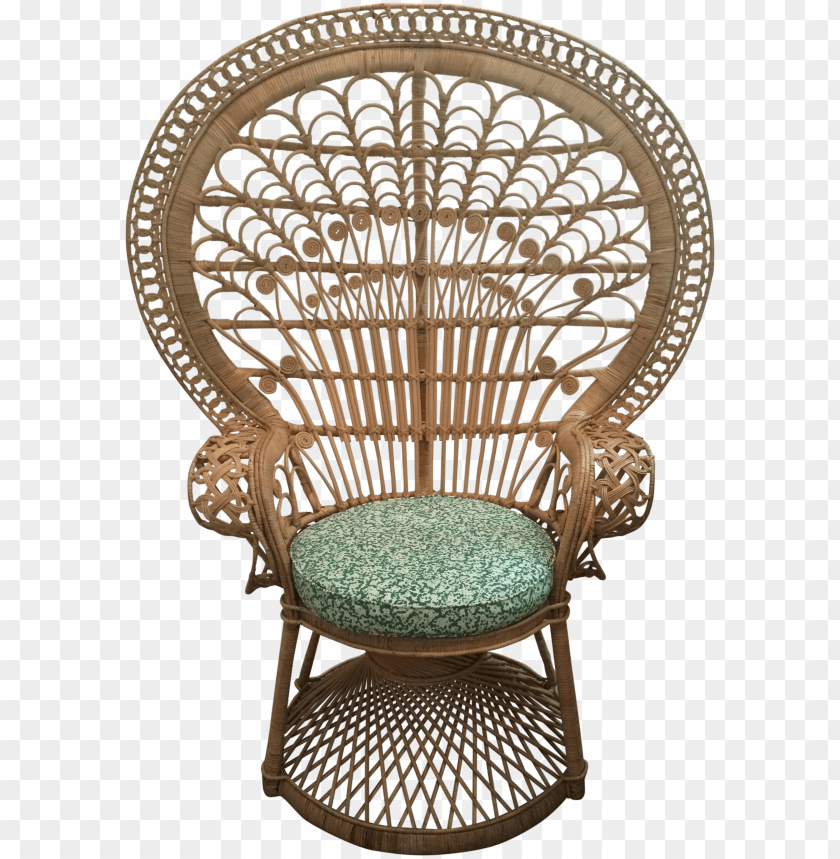 free PNG eacock chair peacock wicker chair wicker peacock chair - png peacock chair PNG image with transparent background PNG images transparent