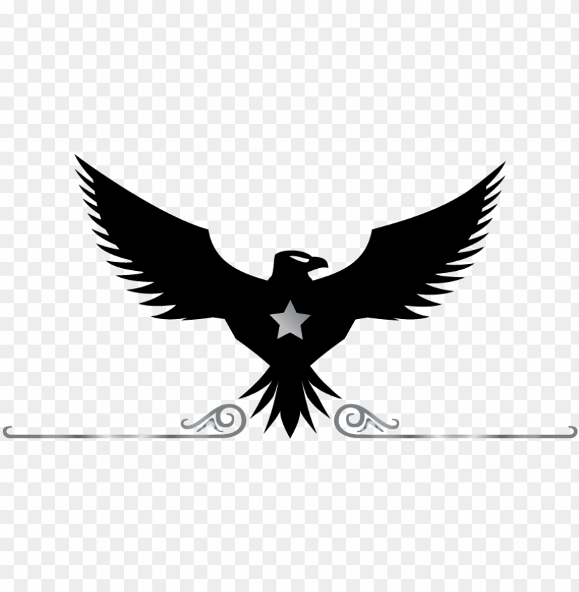 free PNG eagle logo free eagle logo creator online eagle logo - black and white eagle logo PNG image with transparent background PNG images transparent