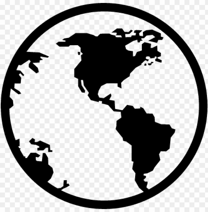 free PNG earth globe vector - world map icon transparent PNG image with transparent background PNG images transparent