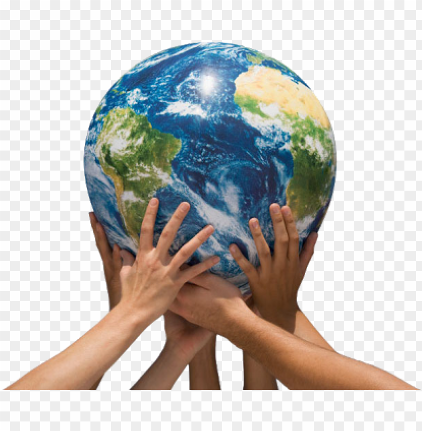 free PNG earth in hands png file - hand holding earth PNG image with transparent background PNG images transparent