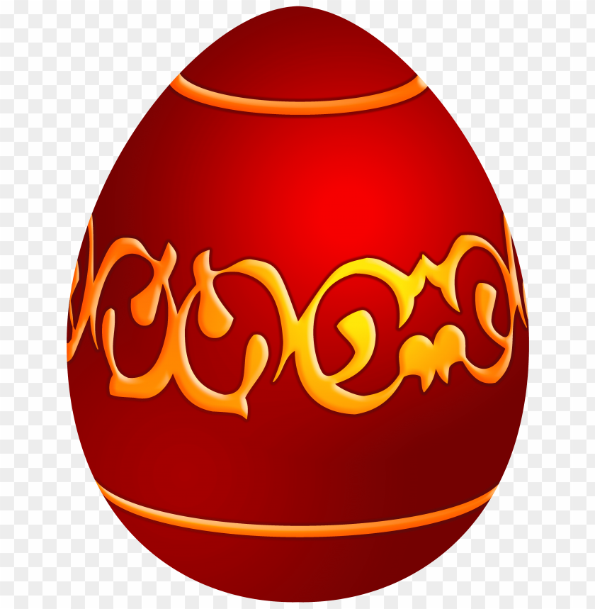 free PNG Download easter decorative red egg clipart png photo   PNG images transparent