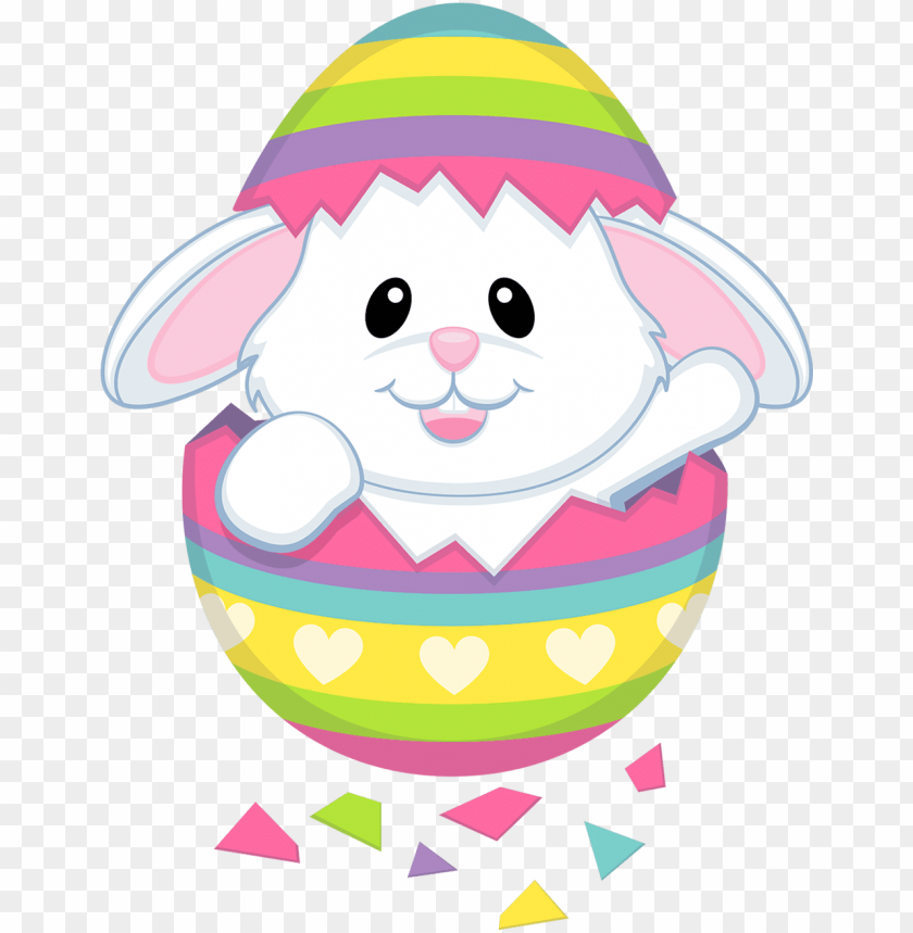 Easter Easter Bunny Clipart Cute Png Image With Transparent