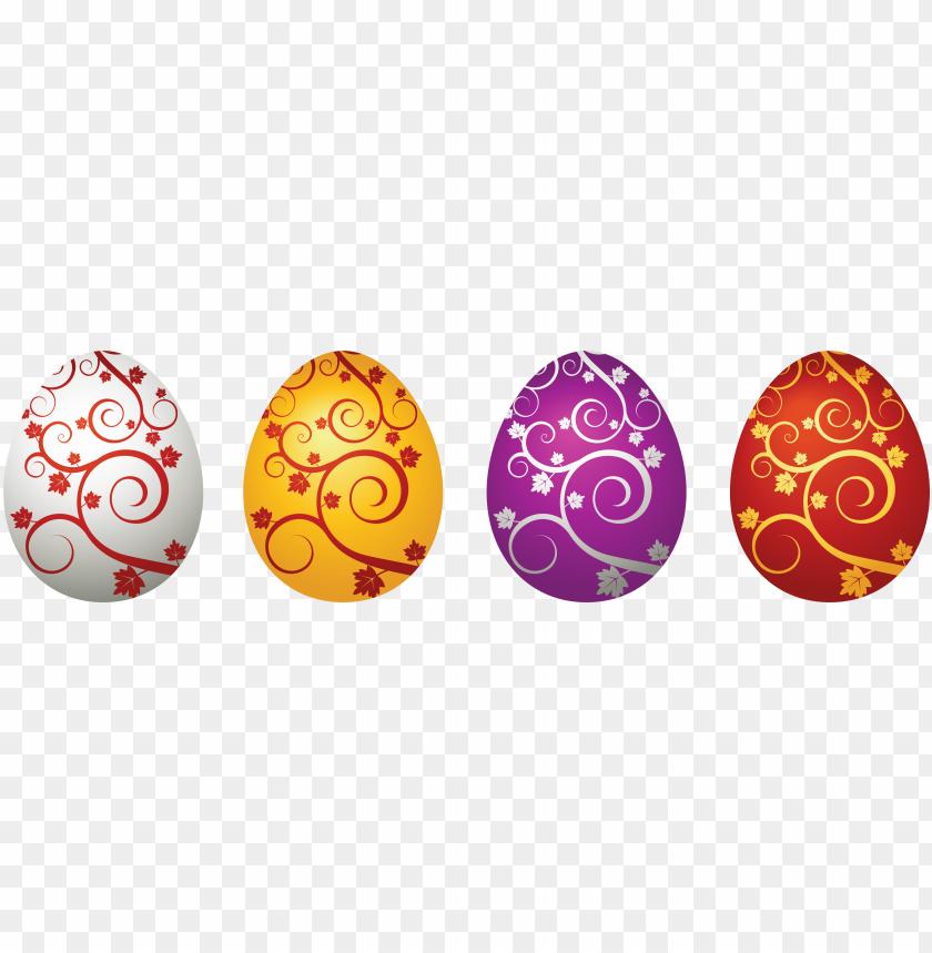 Pastel Easter Egg Clipart - Pastel Coloured Easter Eggs, HD Png Download ,  Transparent Png Image - PNGitem