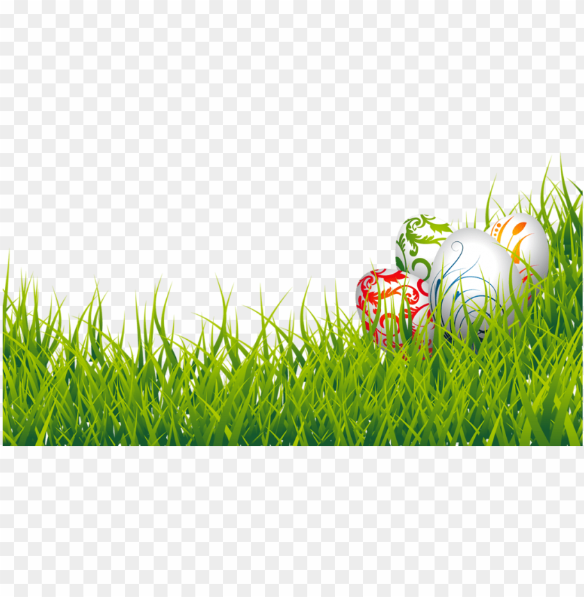 free PNG easter eggs and grass png clipart picture - easter eggs in grass PNG image with transparent background PNG images transparent