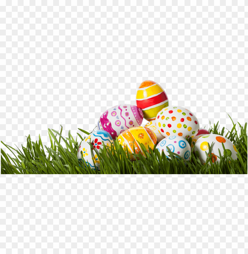 free PNG easter eggs in grass png - transparent easter eggs PNG image with transparent background PNG images transparent
