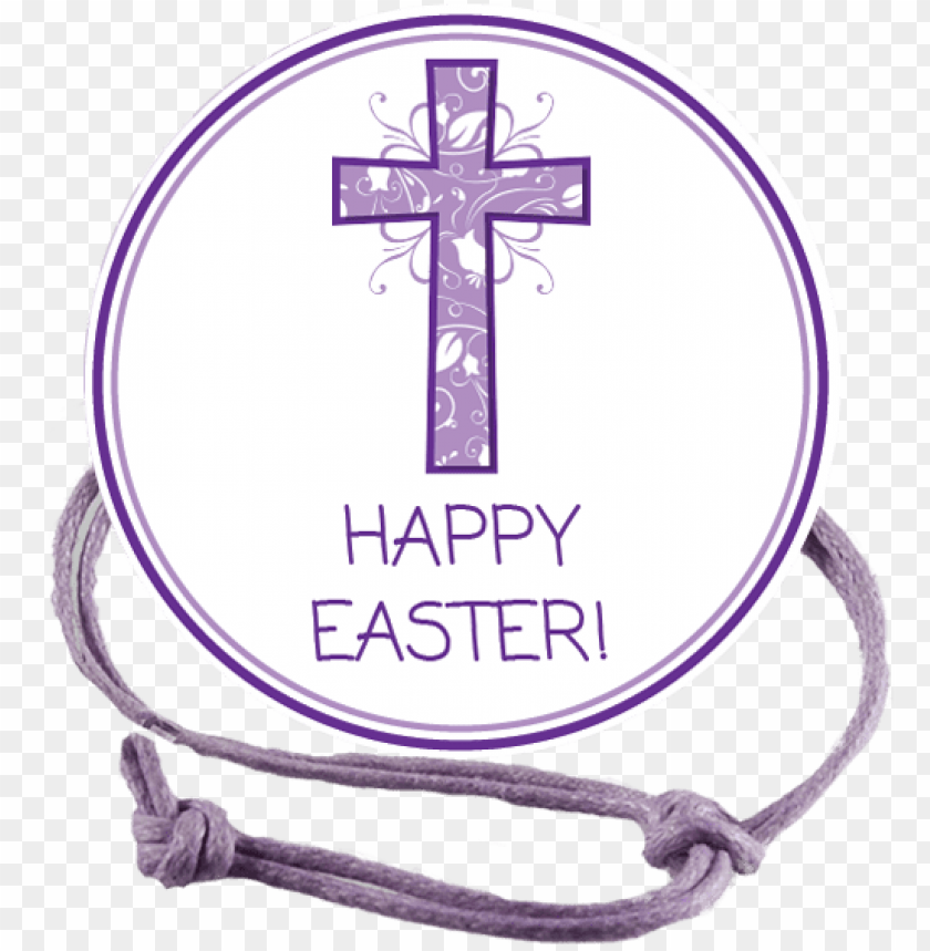 free PNG easter purple cross napkin knot product image - cross PNG image with transparent background PNG images transparent