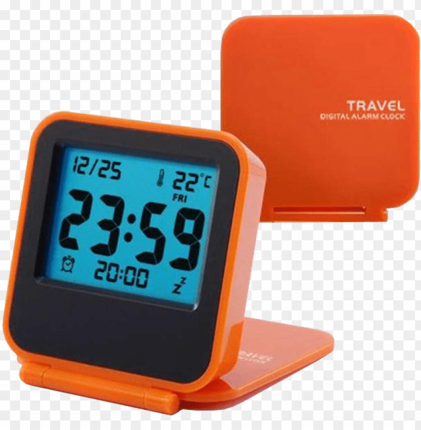 free PNG ebotrade dirct ebotrade travel clock, alarm clock,portable PNG image with transparent background PNG images transparent
