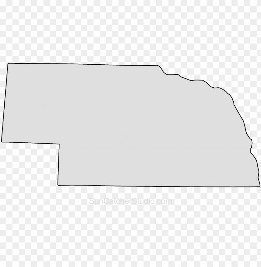 free PNG ebraska map outline shape state stencil clip art scroll - shape of nebraska state PNG image with transparent background PNG images transparent