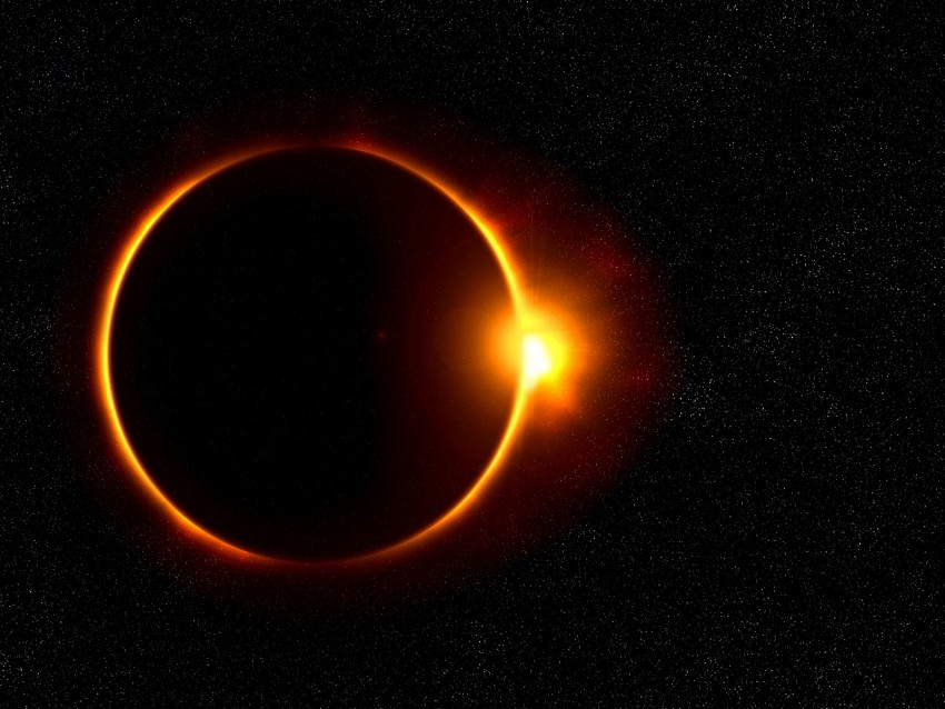 free PNG eclipse, moon, sun, rays, shine background PNG images transparent