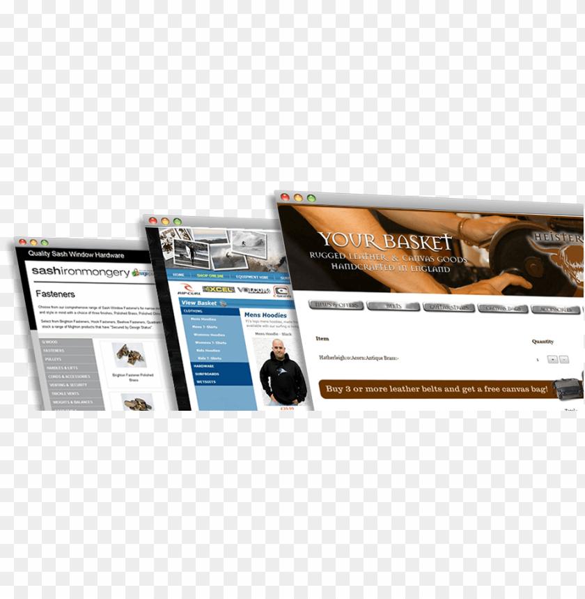 free PNG ecommerce website design - website PNG image with transparent background PNG images transparent