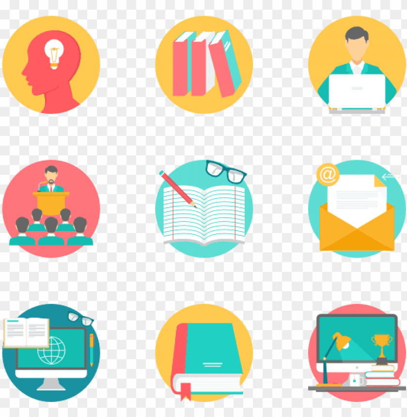 free PNG education 35 icons - iconos para presentaciones PNG image with transparent background PNG images transparent