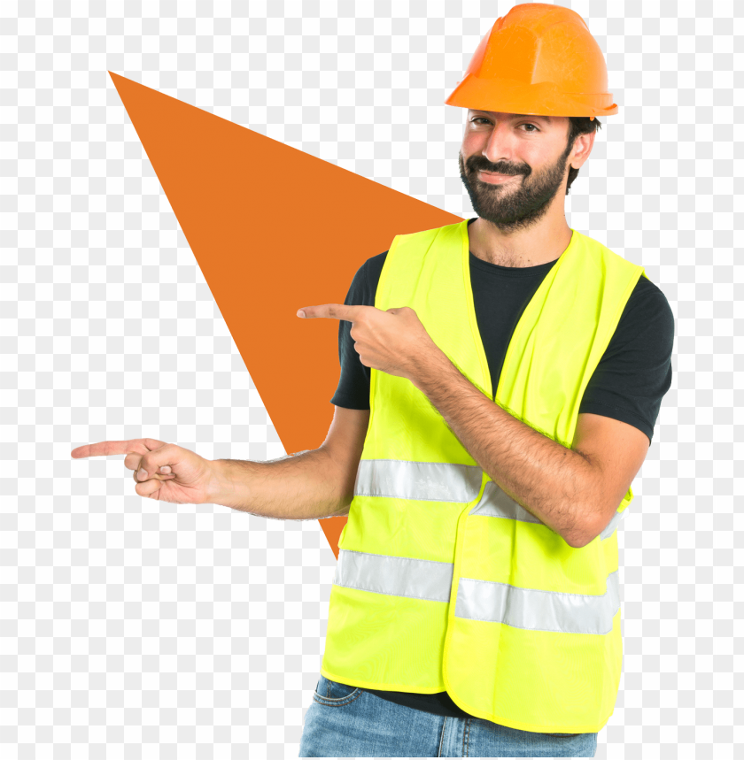 free PNG eed a labour or tradie - construction man pointi PNG image with transparent background PNG images transparent