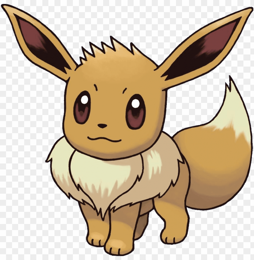free PNG eevee pokemon - drawings of pokemon eevee PNG image with transparent background PNG images transparent