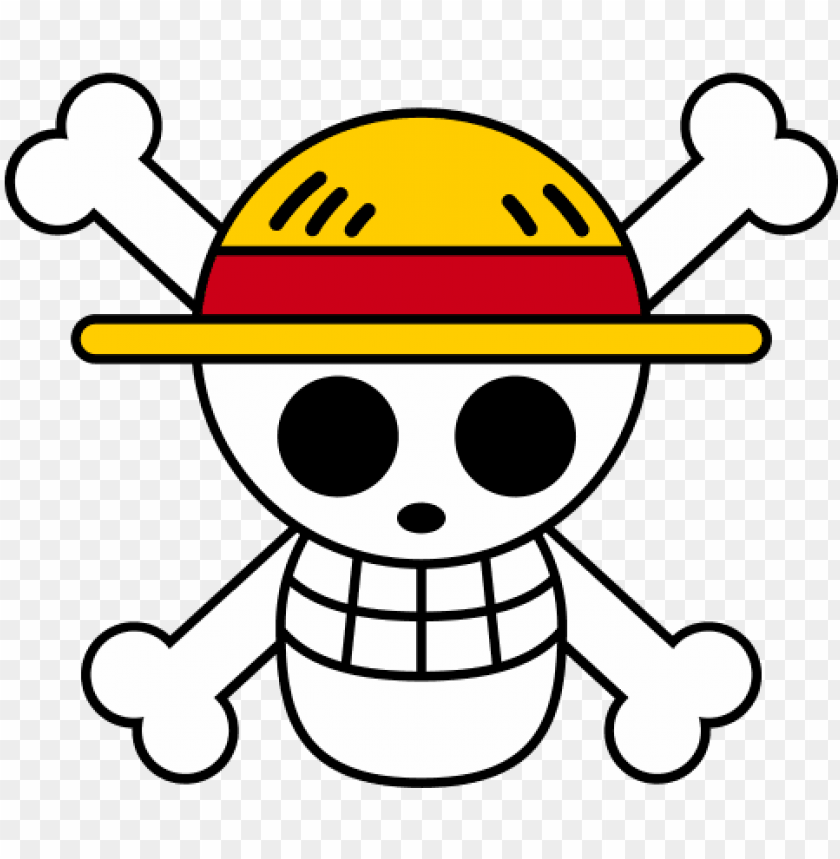 free PNG egatina one piece luffy - luffy jolly roger PNG image with transparent background PNG images transparent