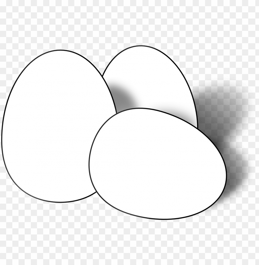 free PNG egg clipart itlog - egg black and white PNG image with transparent background PNG images transparent