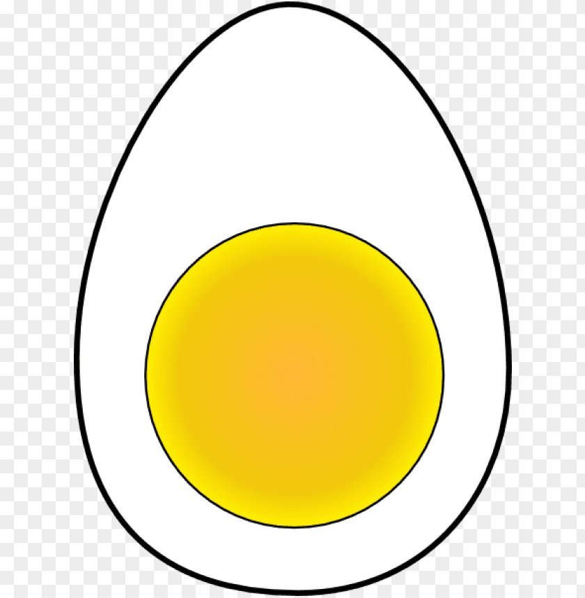 free PNG egg, yolk, albumen, white of egg, white-egg, eggwhite, - half boiled egg vector PNG image with transparent background PNG images transparent