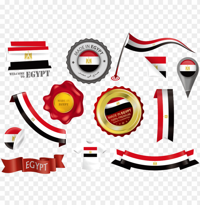 free PNG Download Egyptian flag and national emblem png images background PNG images transparent