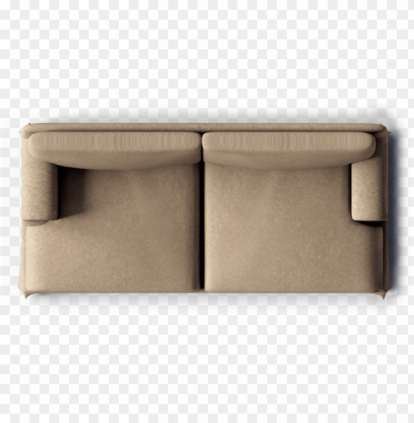 free PNG ekekog 3 seat sofa top - single sofa top view PNG image with transparent background PNG images transparent