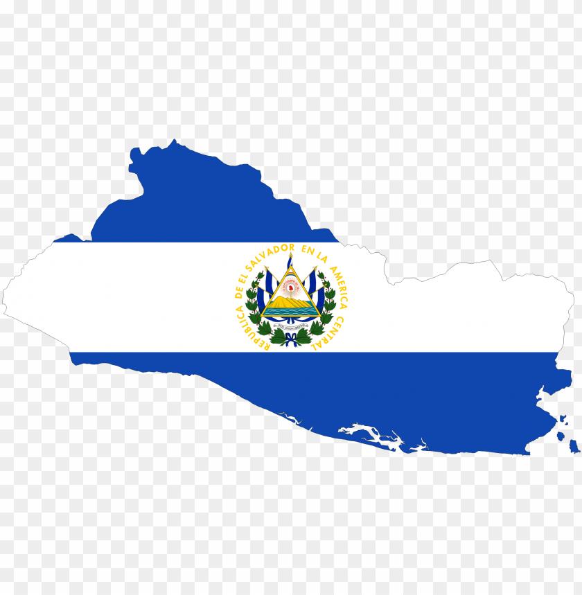 free PNG el salvador map flag icons png - el salvador map fla PNG image with transparent background PNG images transparent