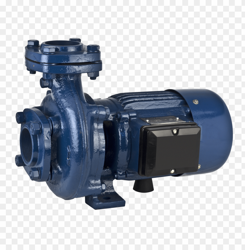 free PNG Electric Water Pump Blue Motor png images background PNG images transparent
