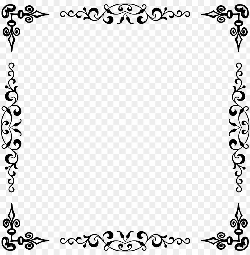 free PNG elegant border png download - marcos para invitaciones elegantes PNG image with transparent background PNG images transparent