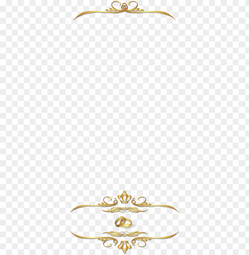 free PNG elegant golden ornamental wedding snapchat filter - wedding snapchat filter PNG image with transparent background PNG images transparent