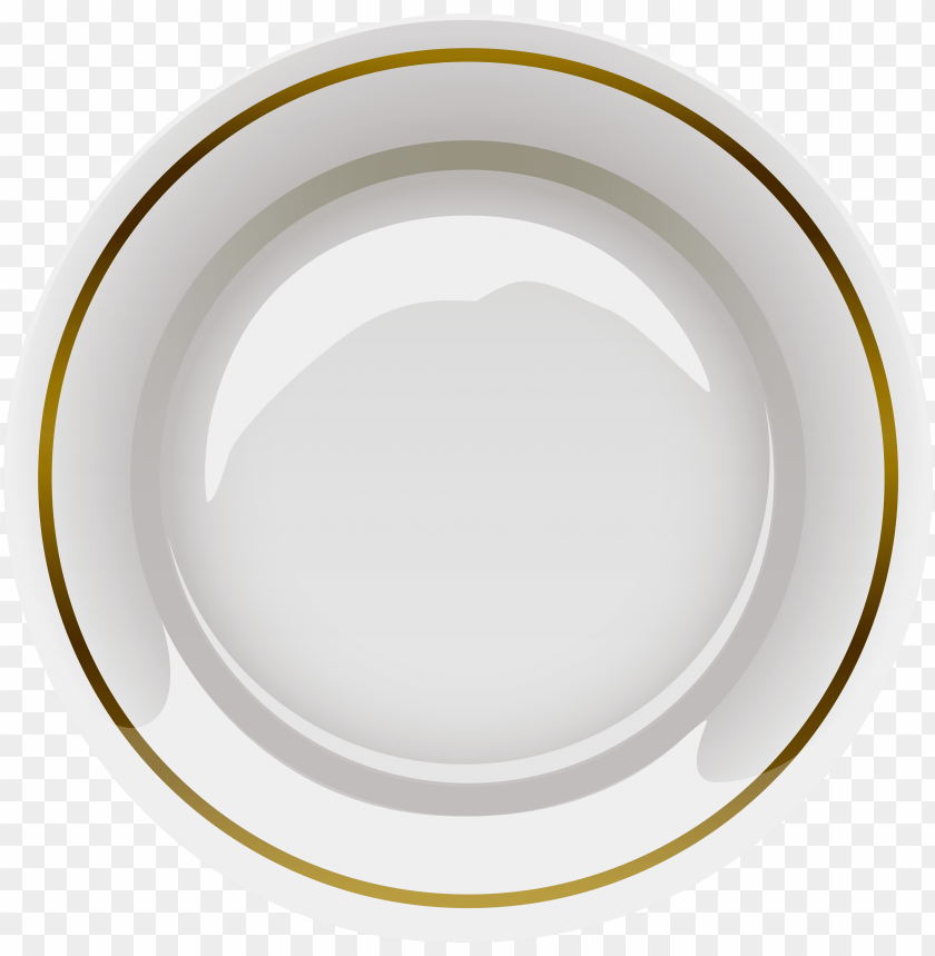free PNG elegant plate png clipart - plate PNG image with transparent background PNG images transparent