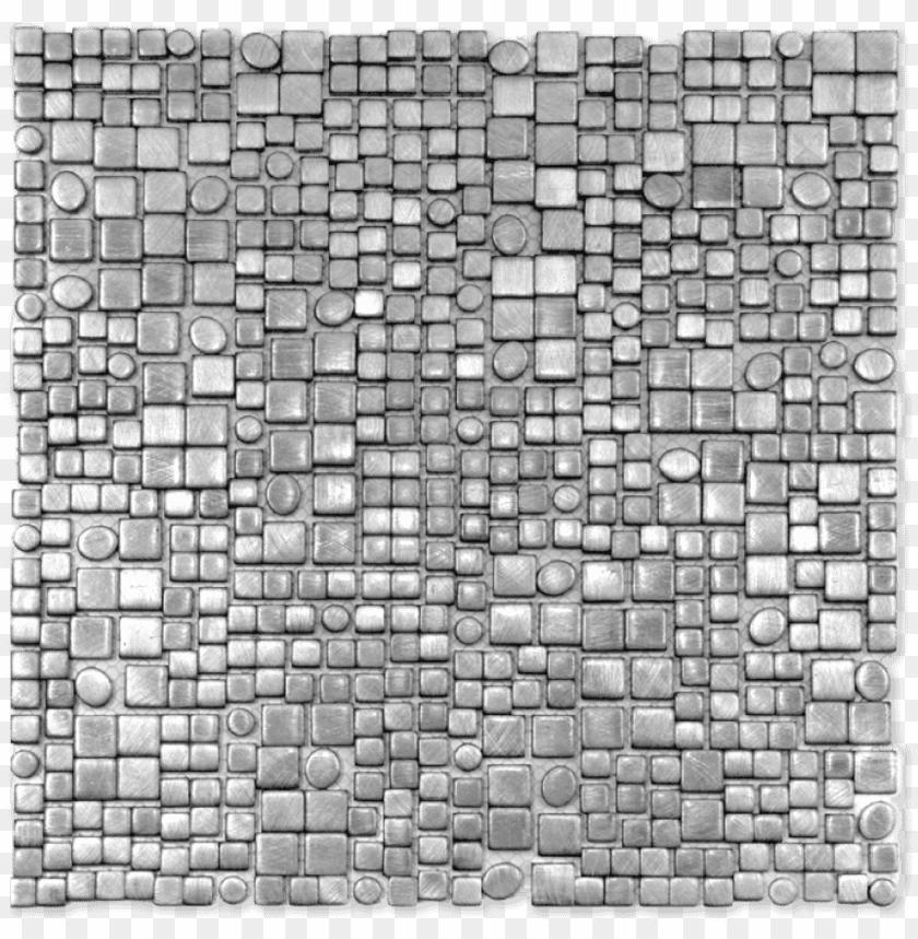 free PNG element aluminium fractal silver - soli tile & stone element 12 x 12 fractal silver PNG image with transparent background PNG images transparent