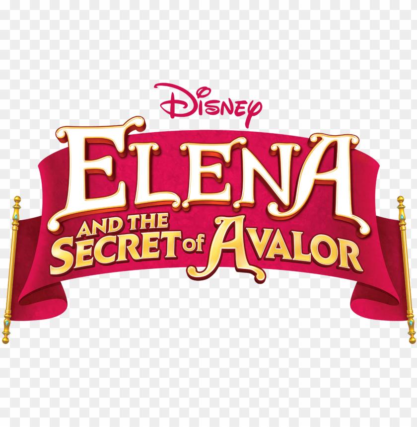free PNG elena and the secret of avalor - elena and the secret of avalor logo PNG image with transparent background PNG images transparent