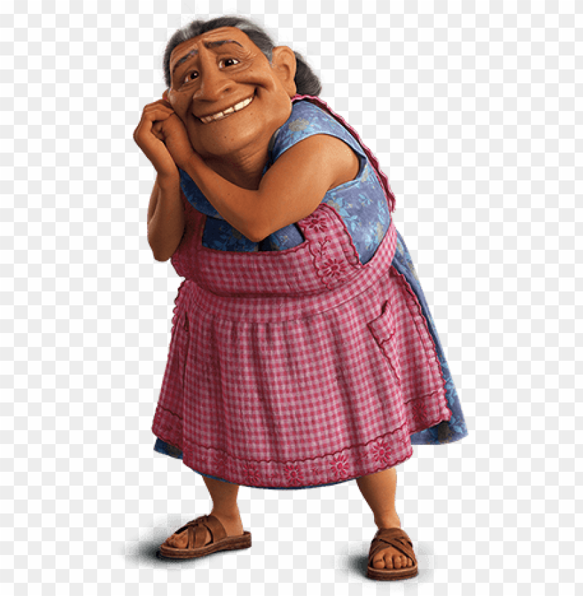 free PNG elena rivera, also known as abuelita, is a character - abuela de miguel coco PNG image with transparent background PNG images transparent