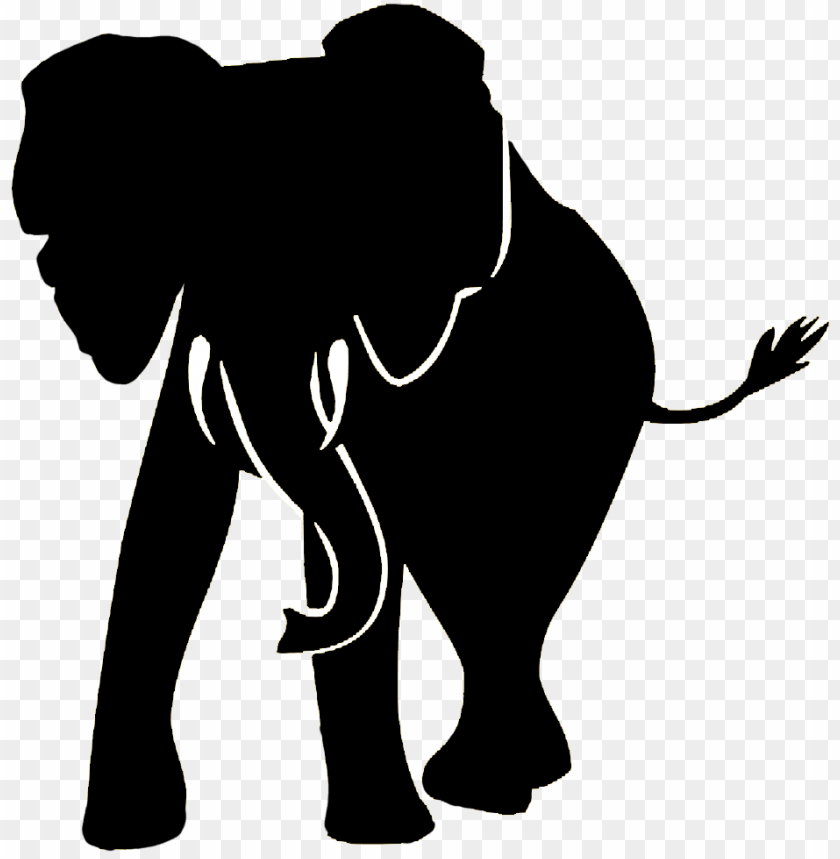 Elephant Black And White Silhouette Png Image With Transparent Background Toppng Three species are recognised, the african bush elephant (loxodonta africana). elephant black and white silhouette png