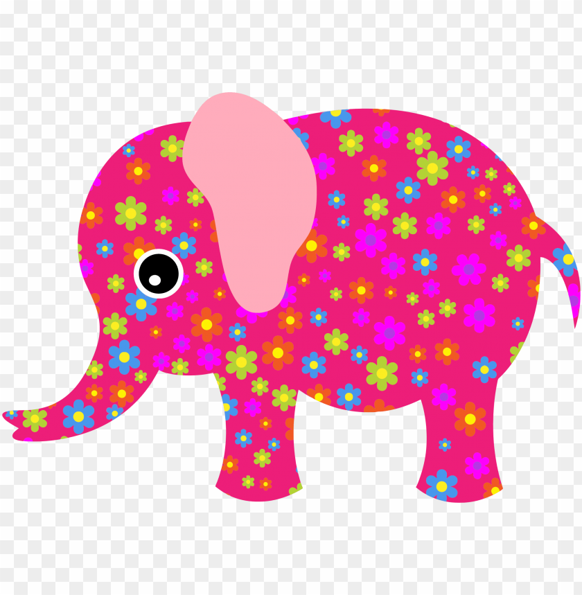 free PNG elephant pink PNG image with transparent background PNG images transparent