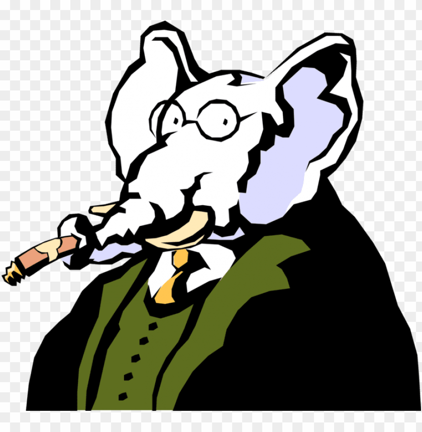 free PNG elephant smoking a cigar PNG image with transparent background PNG images transparent