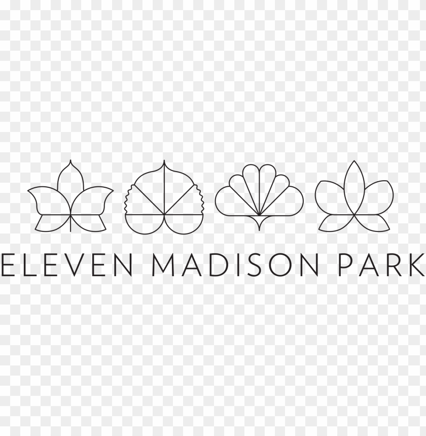 free PNG eleven madison park is a fine dining restaurant located - 11 madison park logo PNG image with transparent background PNG images transparent